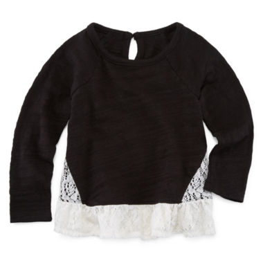 jcpenney.com | Arizona Girls Long Sleeve T-Shirt-Baby