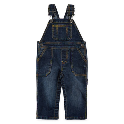 Arizona Denim Overalls - Baby Boys 3m-24m