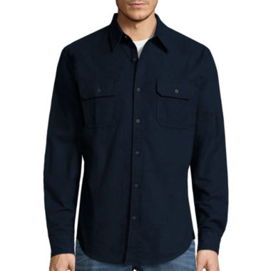 jcpenney.com | St. John's Bay® Long-Sleeve Chamois Shirt