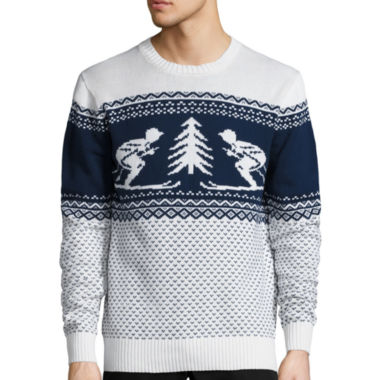 jcpenney.com | St. John's Bay® Long-Sleeve Holiday Sweater