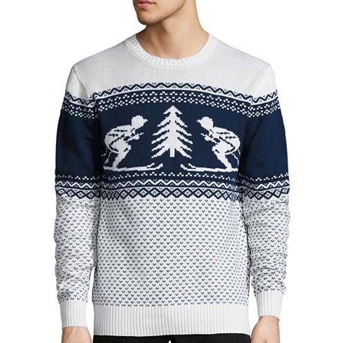 St. John's Bay® Long-Sleeve Holiday Sweater