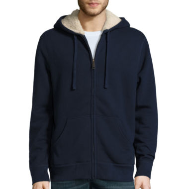 jcpenney.com | St. John's Bay® Long-Sleeve Sherpa-Lined Hoodie