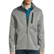 St. John'S Bay® Long-Sleeve Terra Tek Full-Zip Sweater Fleece