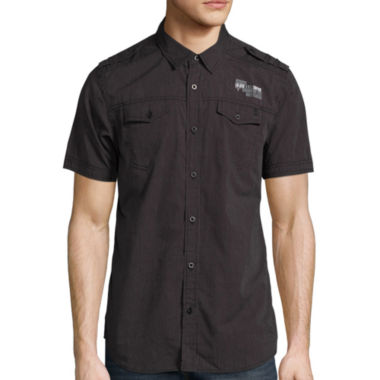 jcpenney.com | i jeans by Buffalo® Short-Sleeve Meyer Woven Shirt