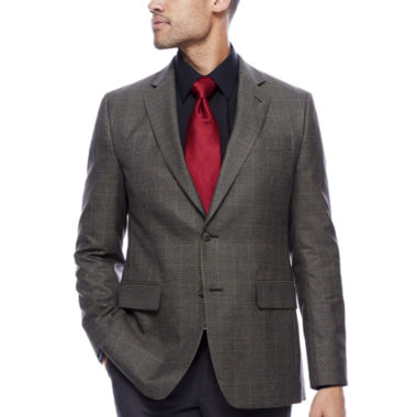 jcpenney.com | Stafford® Travel Yearround Houndstooth Sportcoat