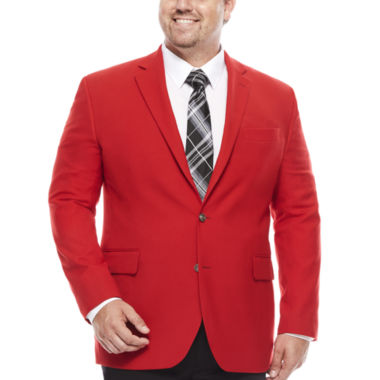 jcpenney.com | Stafford® Hopsack Classic-Fit Sportcoat - Big & Tall