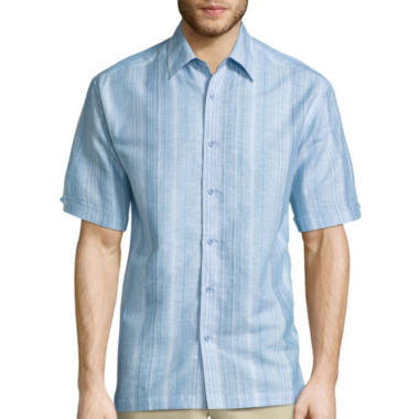 jcpenney.com | The Havanera Co.® Short-Sleeve Stripe Shirt