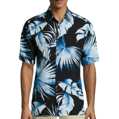 jcpenney.com | The Havanera Co.® Short-Sleeve Tropical Print Shirt