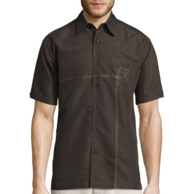 jcpenney.com | Havanera Linen Cotton Embroidered Shirt