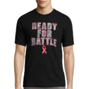 Xersion™ Short-Sleeve Ready for Battle Breast Cancer Tee