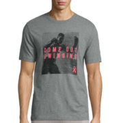 Xersion™ Short-Sleeve Come Out Swinging Breast Cancer Tee