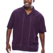 The Havanera Co.® Short-Sleeve Embroidered Shirt - Big & Tall