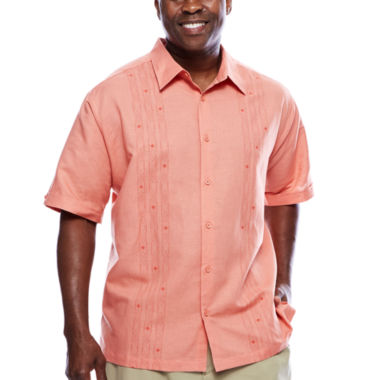 jcpenney.com | Havanera™ Printed Panel Short Sleeve Shirt