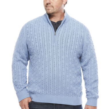 jcpenney.com | IZOD® Long-Sleeve Durham Sweater - Big & Tall