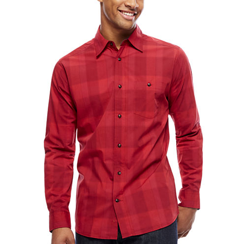 ARGYLECULTURE Button-Front Shirt