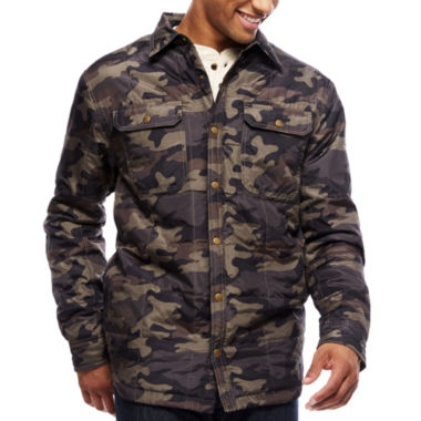 jcpenney.com | ARGYLECULTURE Long-Sleeve Quilted Camo Jacket