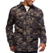 Argyle Culture Long-Sleeve Quilted Camo Jacket