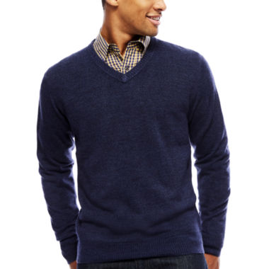 jcpenney.com | Argyle Culture Long-Sleeve V-Neck Sweater