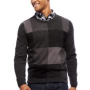 ARGYLECULTURE Long-Sleeve Pullover Sweater