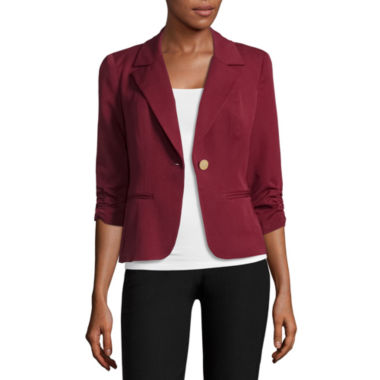 jcpenney.com | Hollywould Fitted Fit Woven Blazer - Juniors