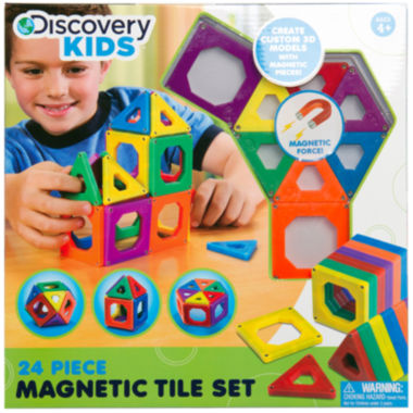 jcpenney.com | Discovery Kids 24-pc. Magnetic Tile Set