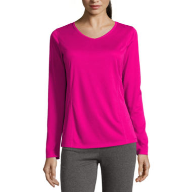 jcpenney.com | Made for Life™ Long-Sleeve Quick-DRI Tee