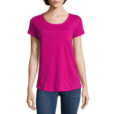 jcpenney.com | a.n.a® Relaxed Fit Boyfriend T-Shirt
