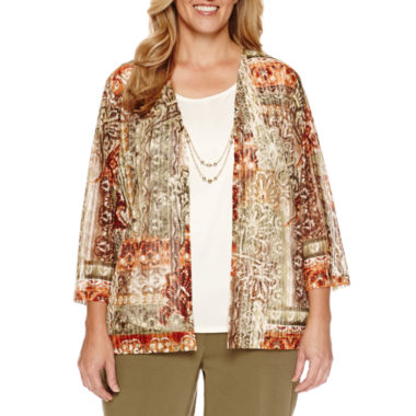jcpenney.com | Alfred Dunner Layered Top - Plus
