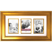 Arial Gold Collage Picture Frame