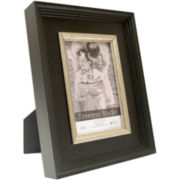 Baldwin Black & Silver Tabletop Picture Frames