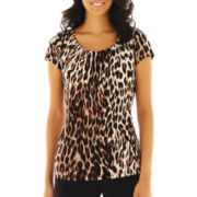 Worthington® Essential Scoopneck Tee - Petite