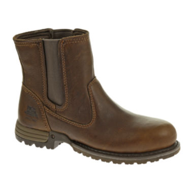 jcpenney.com | CAT® Freedom Womens Leather Work Boots - Wide Width