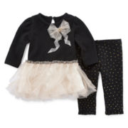 Nanette Baby Tutu Top and Leggings - Baby Girls 3m-24m
