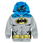 Batman Costume Hoodie - Toddler Boys 2t-5t