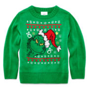 The Grinch Holiday Sweater - Toddler Boys 2t-5t