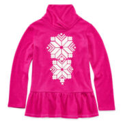 Arizona Shawl-Collar Top - Toddler Girls 2t-5t