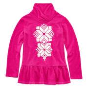 Arizona Shawl-Collar Top - Toddler Girls 2t-5t
