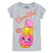 Shopkins Lippy Lips Graphic Tee - Preschool Girls 4-6x