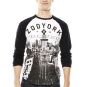 Zoo York® Long-Sleeve Raglan Baseball T-Shirt