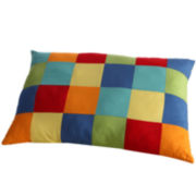 Fiesta Colorblock Oblong Decorative Pillow