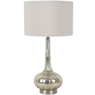 jcpenney.com | Mercury Glass Genie Table Lamp - Ivory
