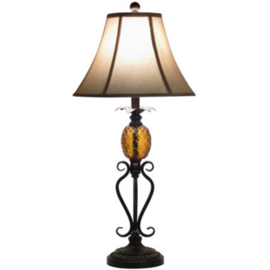 jcpenney.com | JCPenney Home™ Pineapple Table Lamp