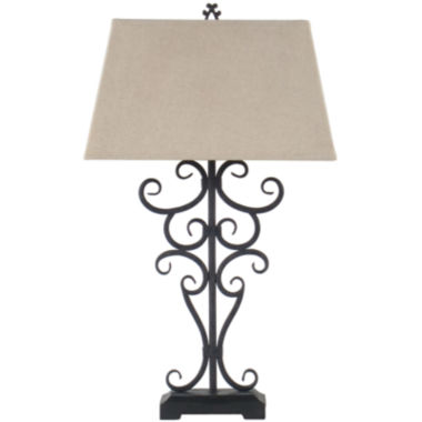 jcpenney.com | JCPenney Home™ Iron Scrollwork Table Lamp