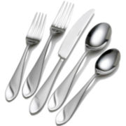Pfaltzgraff® Everyday Sand and Sea Frost 20-pc. 18/10 Stainless Steel Flatware Set