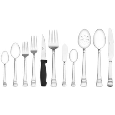 jcpenney.com | Pfaltzgraff® Everyday Sapphire Bay 53-pc. Flatware Set