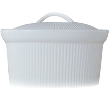 jcpenney.com | BergHOFF® Bianco 1-qt. Porcelain Oval Covered Casserole Dish