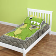 As Seen On TV ZippySack™ Dino Fitted Fleece Blanket