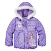 Disney Collection Sofia the First Jacket - Girls 2-8