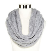 Liz Claiborne® Braided Cable Knit Infinity Scarf
