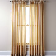 Royal Velvet® Chantal Rod-Pocket Sheer Panel